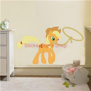 my little pony decal removable wall sticker home decor art bedroom