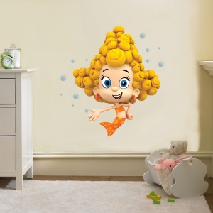 Deema Bubble Guppies Decal Removable Wall Sticker Home Decor Art Movie Bedroom