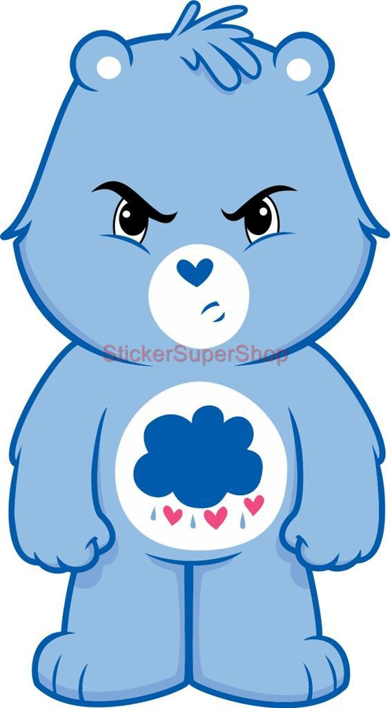 Grumpy Bear Care Bears Decal Removable Wall Sticker Home ...