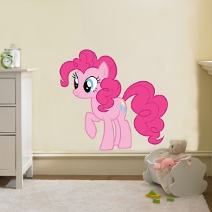 pie my little pony decal removable wall sticker home decor art bedroom