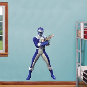 Charming BLUE POWER RANGER Decal Removable WALL STICKER Home Decor Art Kids Bedroom  Color | EBay Part 7