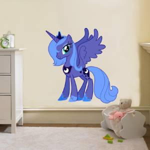 ... Luna My Little Pony Wall Sticker ... Part 72