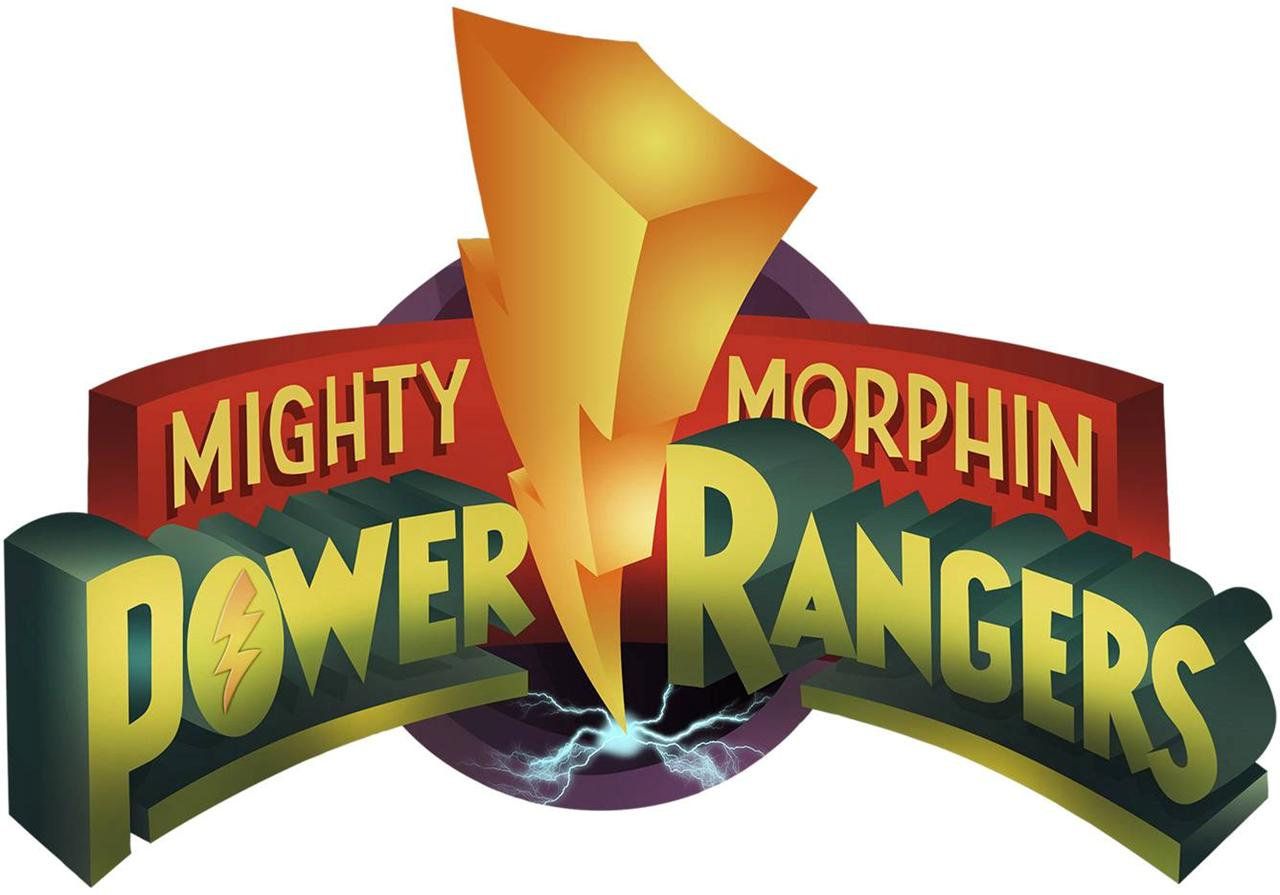 Power Rangers Logo Mighty Morphin Decal Removable Wall ...
