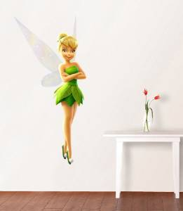 Tinkerbell Disney Fairy Decal Removable Wall Sticker Home Decor Art Movie