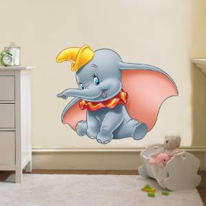 dumbo the elephant disney decal removable wall sticker wall stickers dumbo the elephant straight from heaven