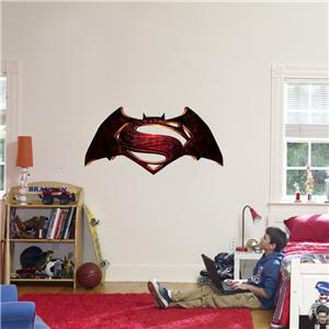 Batman Vs Superman Logo Decal Removable Wall Sticker Home