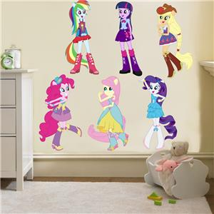 Beau My Little Pony Equestria Girls Decal Removable Wall