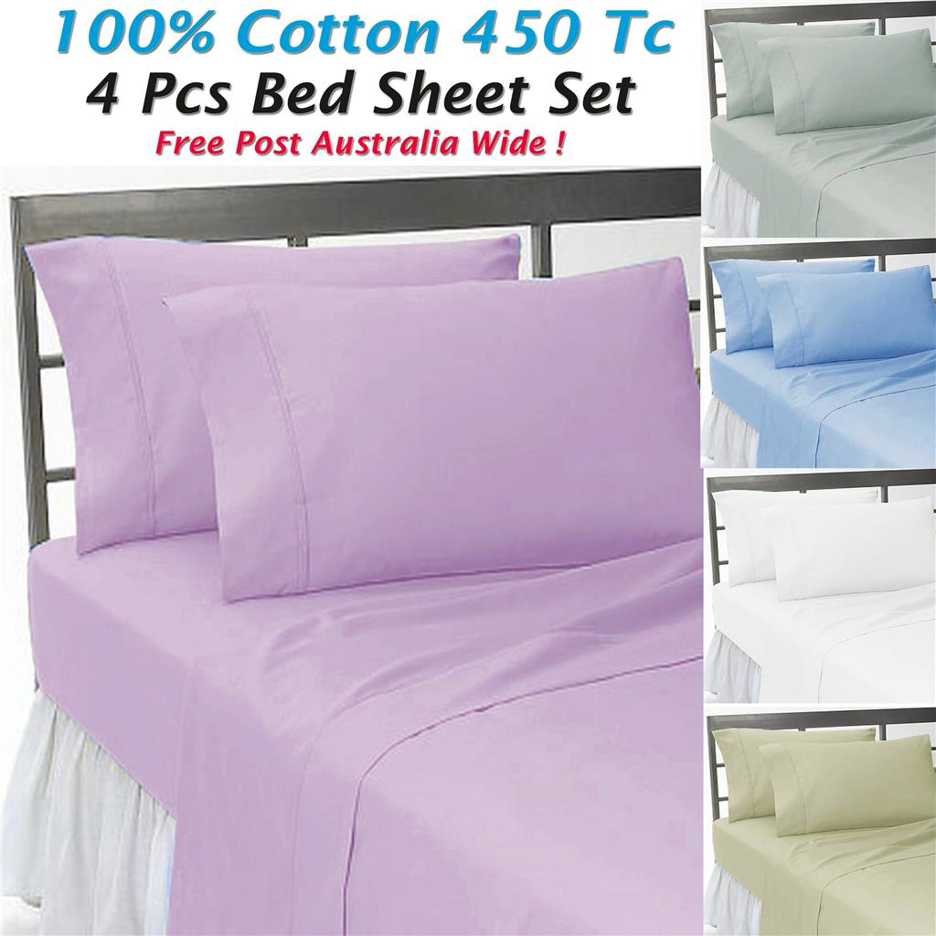 new 100 pure cotton queen king stripe bed sheet set quilt co