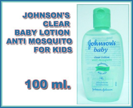100 Ml Johnson S Clear Baby Lotion Anti Mosquito