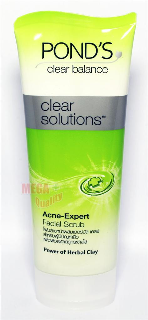 Pond 39 s clear balance solution anti bact acne expert for Pond expert