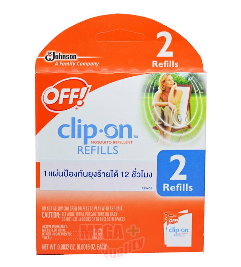 off clip on mosquito repellent instructions