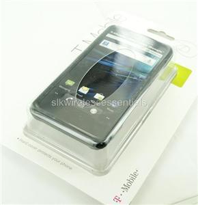 NEW OEM BODYGLOVE LG G2X BLACK SNAP ON CASE COVER+CLIP