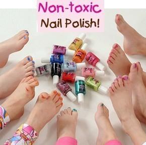 New Piggy Paint Nail Polish Natural Choice Color Mud Kid Safe Non ...