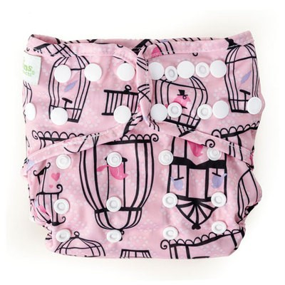New-Bumkins-Cloth-Diaper-Cover-One-Size-Snaps-Fits-Most-Baby
