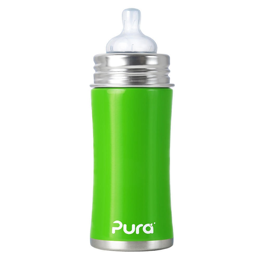 New Pura Kiki Stainless Steel Baby Inflant Bottle Natural