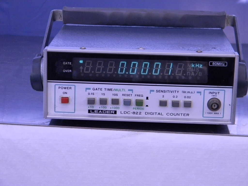 Photo Eye Frequency Counter : Leader ldc digital frequency counter mhz ebay