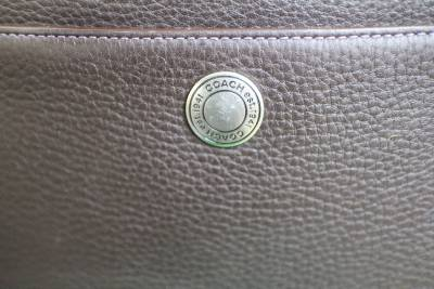 coach bag sale outlet  coach brown pebbled leather