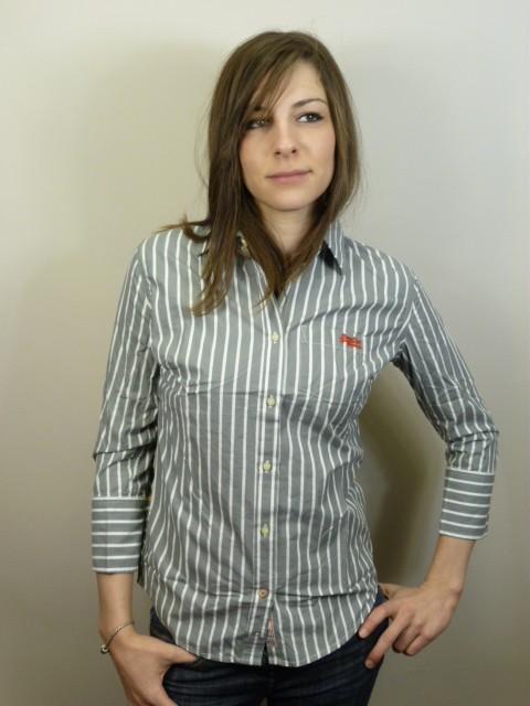 Neues-Damen-Superdry-Premium-Hemd-Bluse-Groesse-S-Ref-GC4239-0900