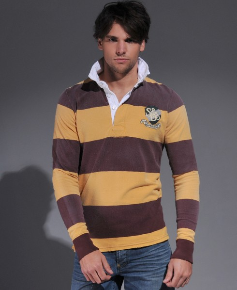 New-Mens-Superdry-Vintage-Destroyed-Rugby-Top-RB-MP130-1325