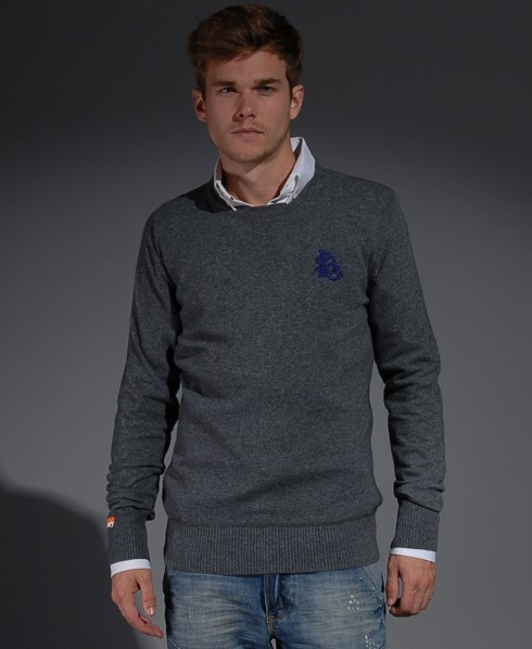 New-Mens-Superdry-Premium-Crew-Neck-Jumper-SB-MP33-1200