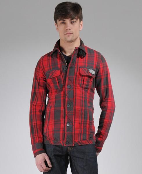 New-Mens-Superdry-Sawmill-Flannel-Shirt-Jacket-AL-MP21-1395