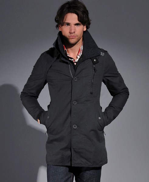 New-Mens-Superdry-Jermyn-Street-Trench-Jacket-MP331-1538