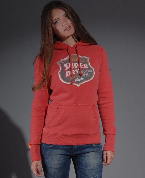 New-Womens-Superdry-Blacklabel-Silvershield-Hoodie-SB-MP357-1045