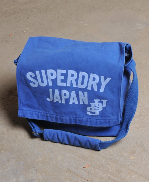 New-Superdry-Retro-Vintage-University-Canvas-Bag-AD2989-0606