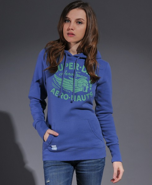 New-Womens-Superdry-Tin-Tab-Aeronauts-Hoodie-VH-MP145-1045