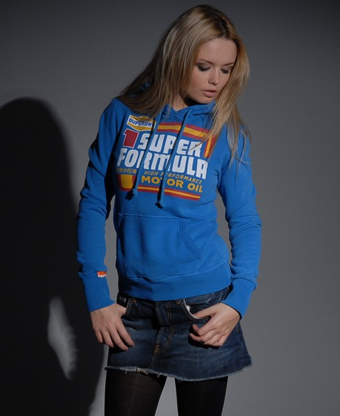 New-Womens-Superdry-Blacklabel-Formula-Hoodie-VH-MP59-1000