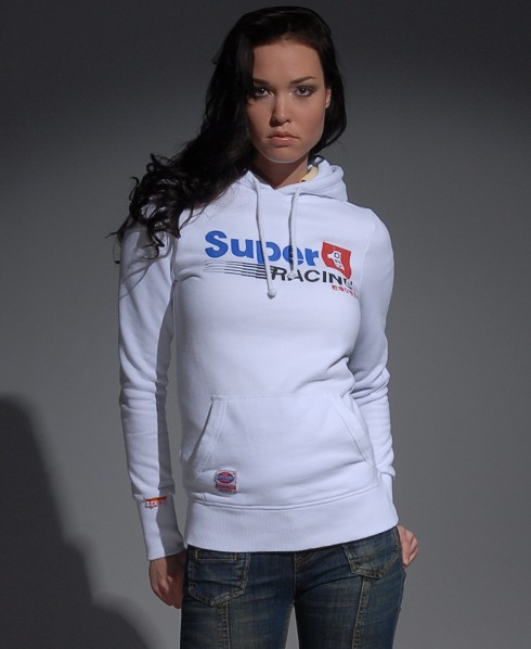 New-Womens-Superdry-Racing-Cracked-Hoodie-MD-MP75-1045