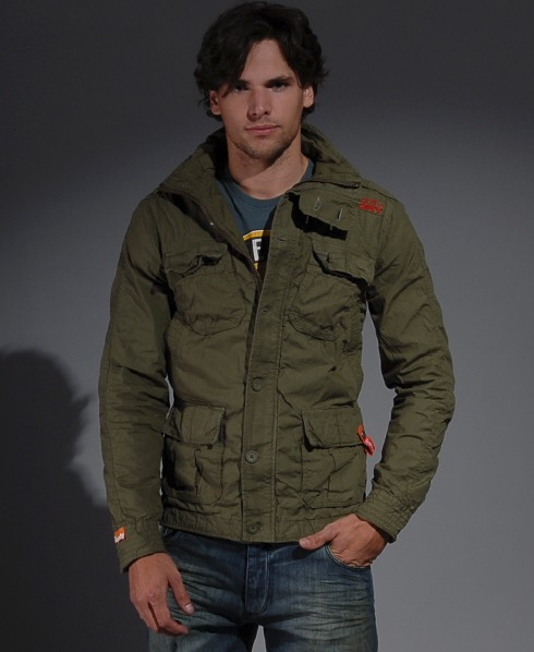 New-Mens-Superdry-Core-Military-Lite-Jacket-MP202-1725