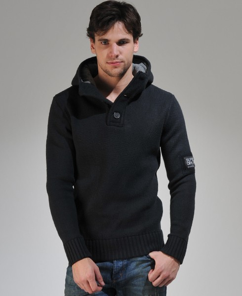 New-Mens-Superdry-Seadog-Hooded-Henley-Top-SB-MP248-2100
