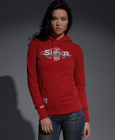 New-Womens-Superdry-Fat-75-Cracked-Hoodie-ref-AT-MP488-1045