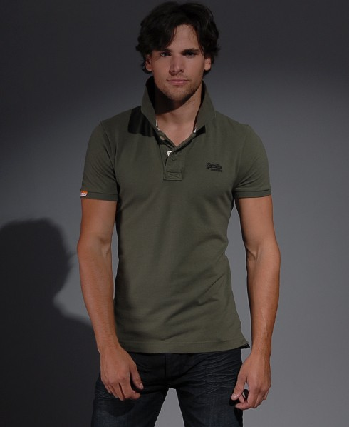 New-Mens-Superdry-Classic-Pique-polo-T-Shirt