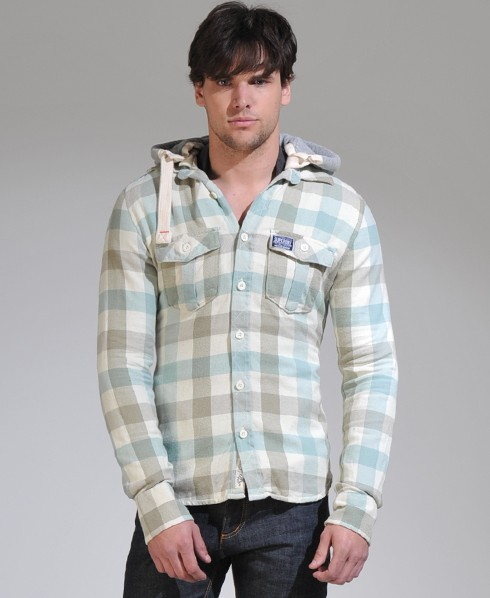 New-Mens-Superdry-Summer-Chainsaw-Shirt-Hoodie-SH-AD2003-1430