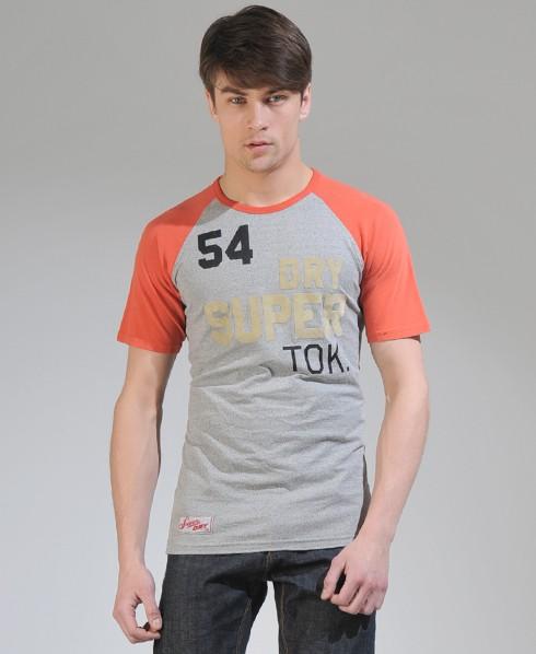 New-Mens-Superdry-Pitch-Tokyo-Raglan-T-Shirt