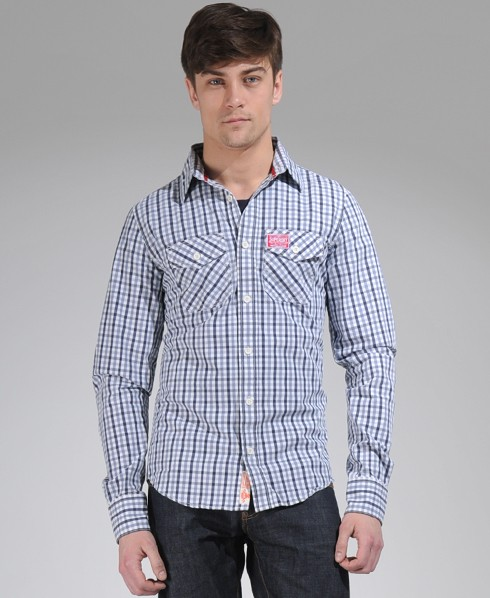 New-Mens-Superdry-Washbasket-Shirt-AD2071-0950
