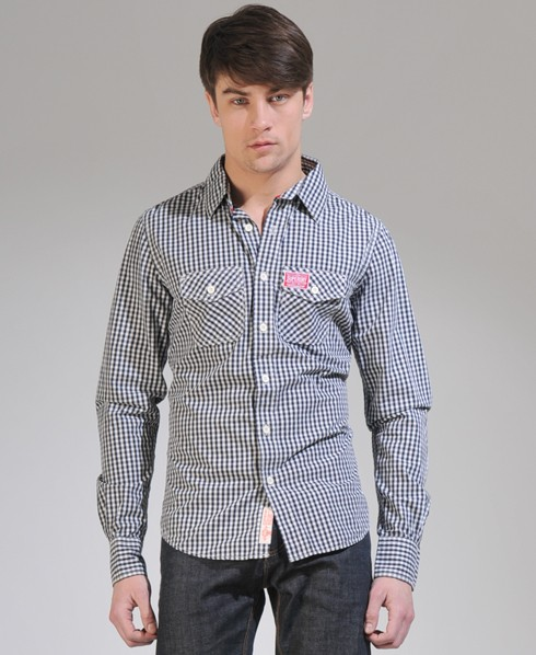 New-Mens-Superdry-Washbasket-Shirt-NS