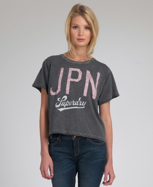 New-Womens-Superdry-JPN-23-TShirt-ref-AD2124-0485