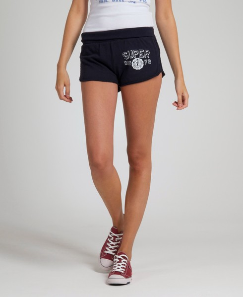 New-Womens-Superdry-Cutback-Shorts-AD2221-0495