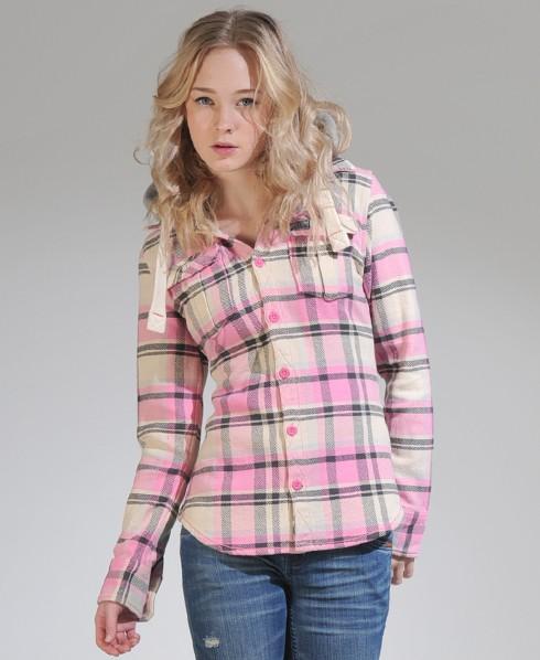 New-Womens-Superdry-Lumberjack-Hoodie-Jacket