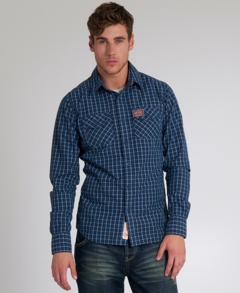 New-Mens-Superdry-Washbasket-Shirt-GB-EB55-1075