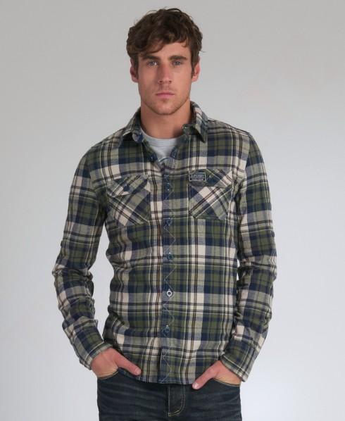 New-Mens-Superdry-Lumberjack-Brush-Shirt-GB-AD2305-1025