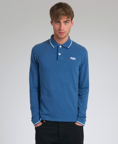 New-Mens-Superdry-Preppy-Long-Sleeved-Polo-T-Shirt-EB26-0828