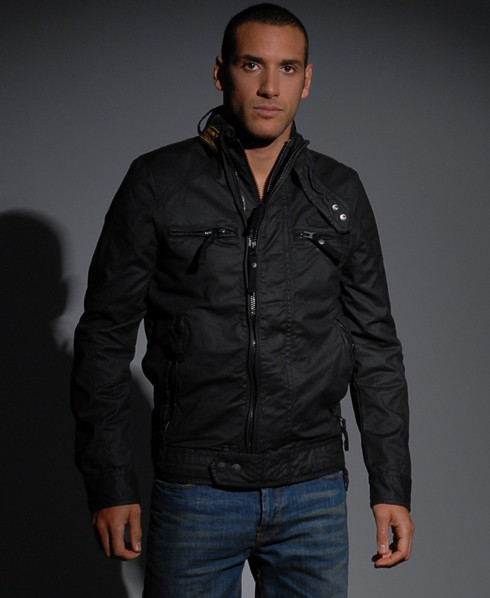 New-Mens-Superdry-Scrambler-Wax-Jacket-AD2312-2929