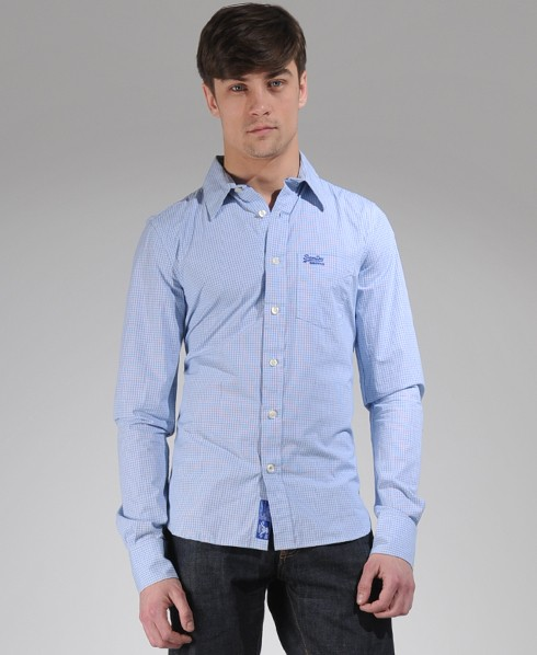 New-Mens-Superdry-Premium-Dress-Shirt-GB-AD2420-1000