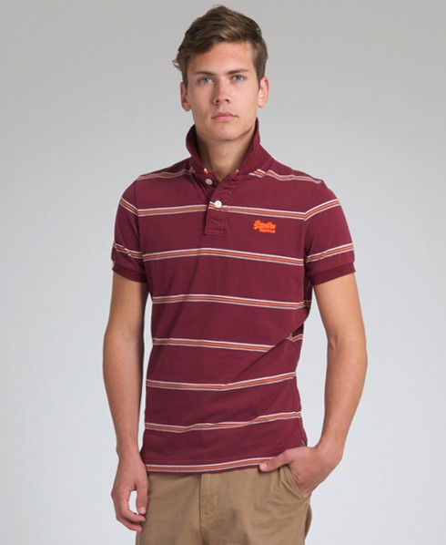 New-Mens-Superdry-Super-Triple-Stripe-Polo-T-Shirt-EB33-0973