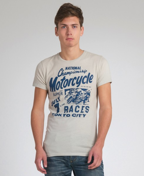 New-Mens-Superdry-Flat-Track-Greaser-T-Shirt-EB17-0510