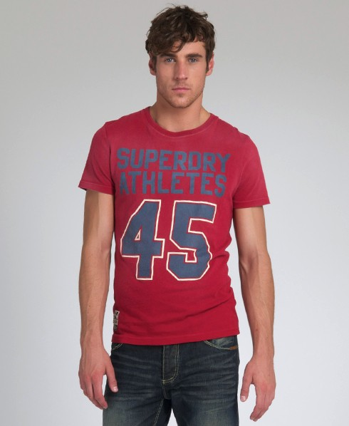 New-Mens-Superdry-New-Athletes-TShirt-TS-AD2436-0500